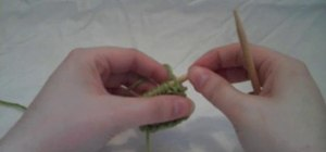 Do a continental-style stretchy bind-off when knitting