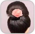 How to Do Prom Bun Hair Style