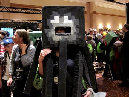 20 Amazing Minecraft Costumes at MineCon 2011