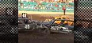 Be a demolition derby driver