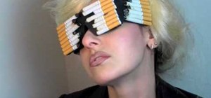"Make Lady Gaga's cigarette sunglasses from ""Telephone"""