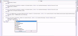 Make web browser bookmarks with Visual Basic 2008