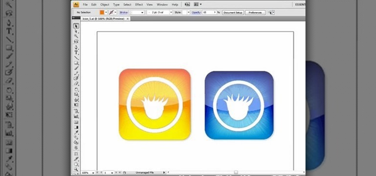 How to Create a glossy button in Illustrator « Adobe