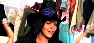 Make a wicked witch Halloween costume w/ Threadbanger