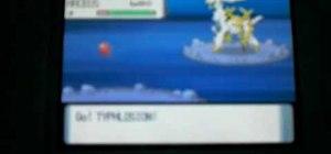 Catch the ultimate legendary pokemon: Arceus