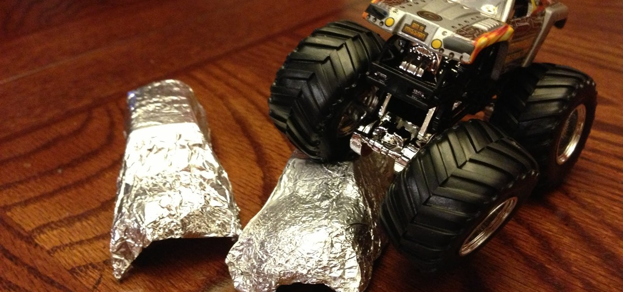 How to Make Tinfoil Cars