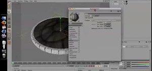 Create a simple UFO when modeling in MAXON Cinema 4D