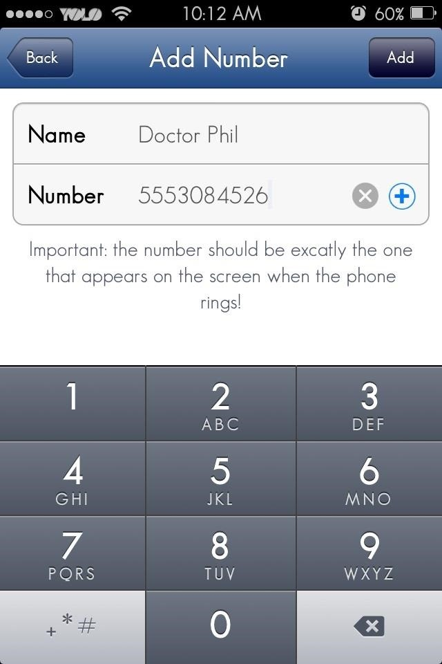 block numbers on iphone iphone numbers gallery 13670
