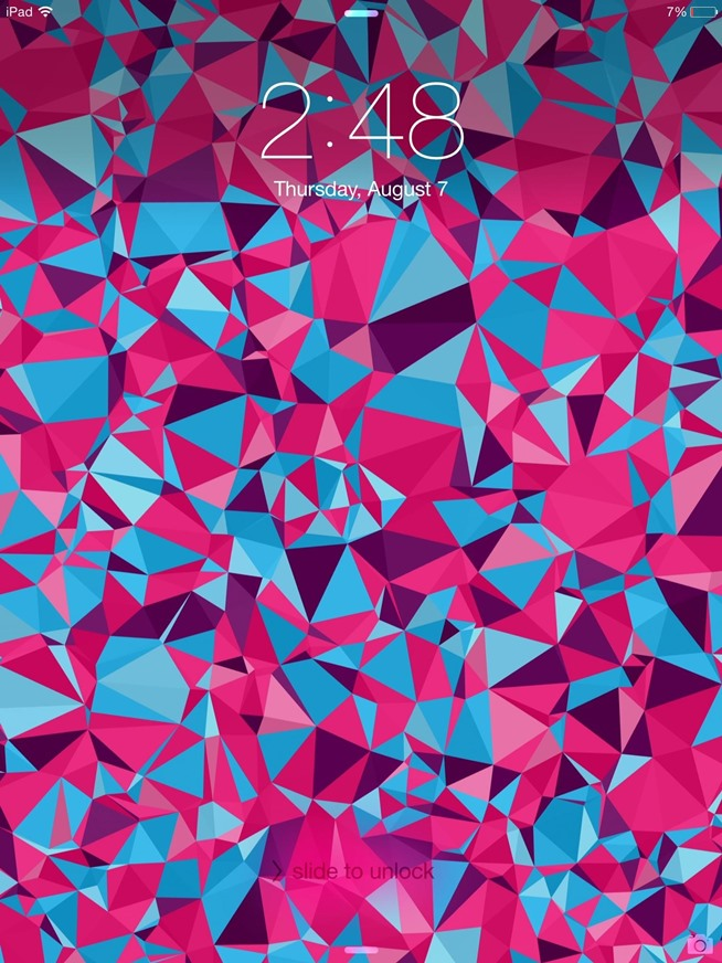 how to create your own abstract polygon shaped wallpapers for your ipad or iphone ios gadget. Black Bedroom Furniture Sets. Home Design Ideas