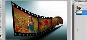Make a 3D film strip in Photoshop CS4