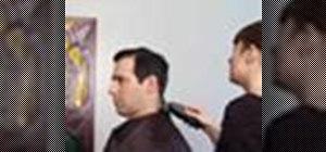 Cut your man's hair
