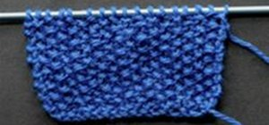Knit the Seed Stitch