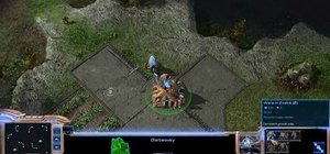 Win playing the Protoss race in StarCraft 2
