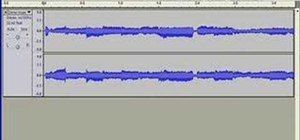 Edit videos in Audacity