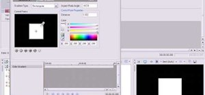 Customize gradients in Sony Vegas