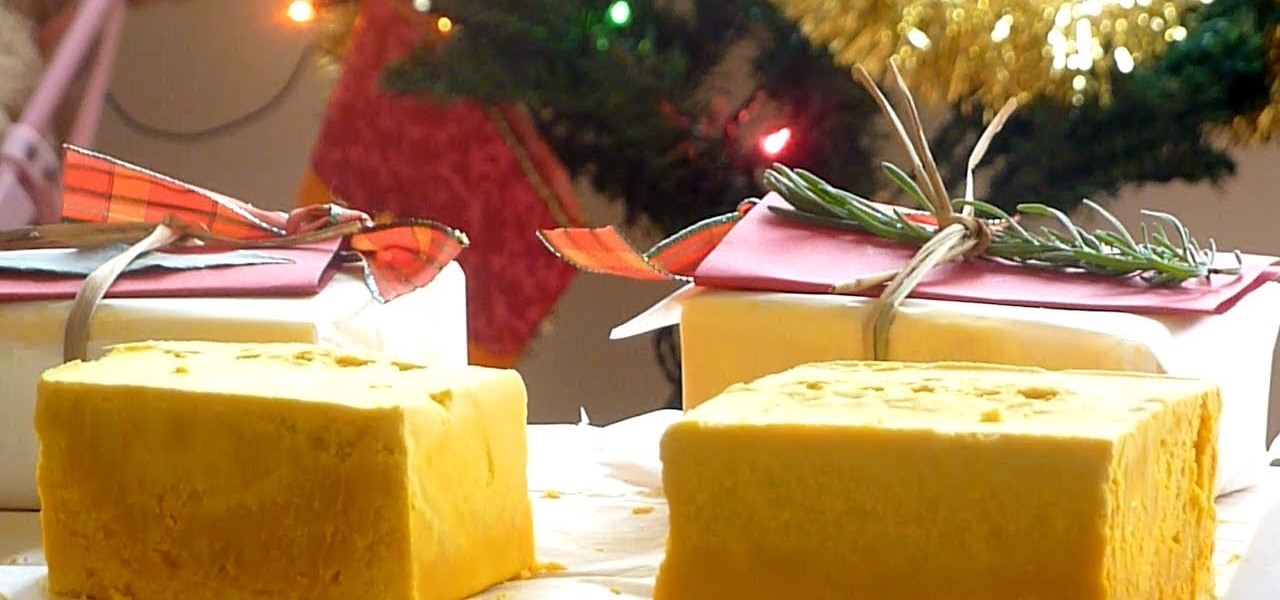 Make Homemade Honey Soap for Christmas Gift