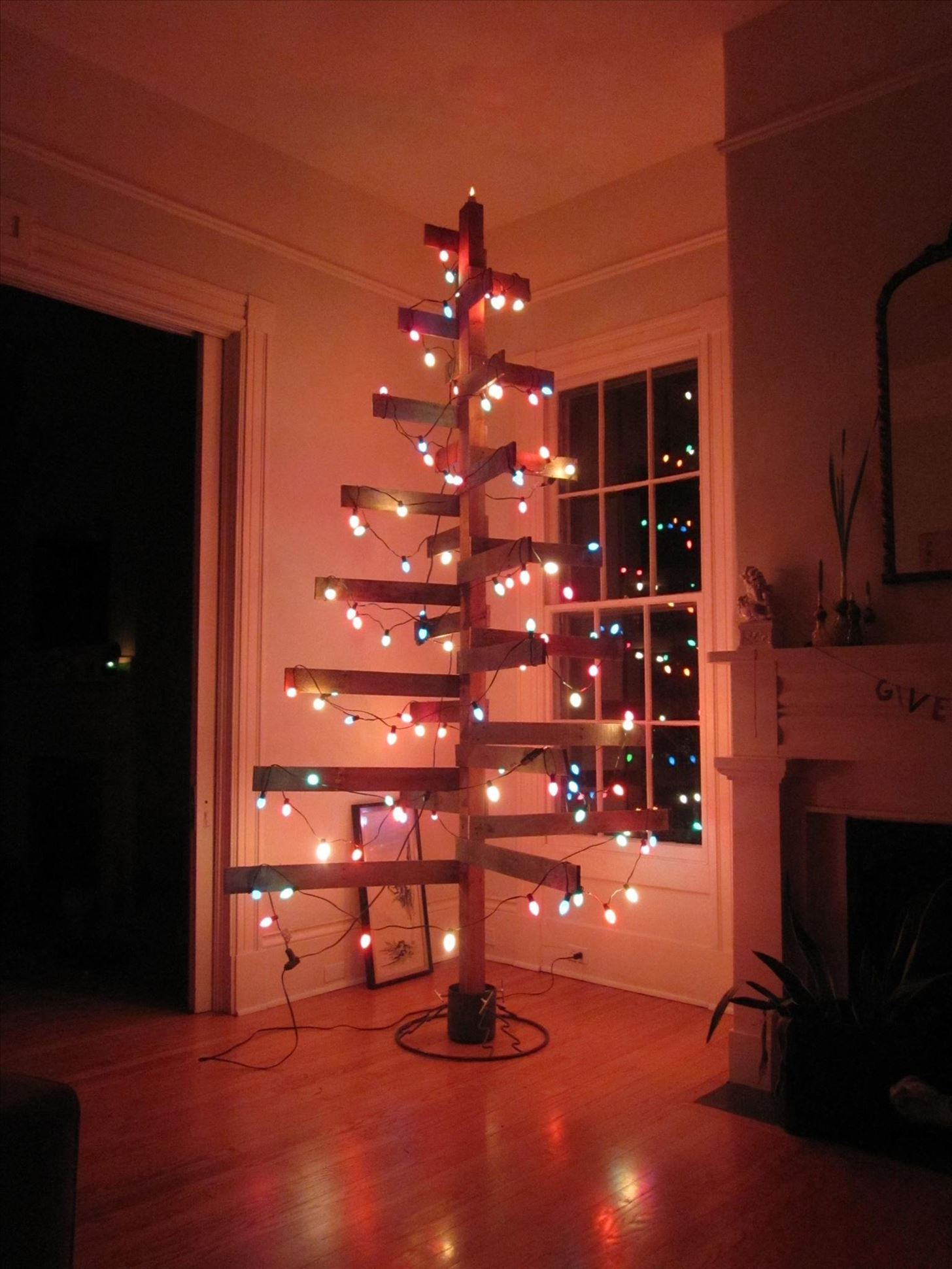 6the Christmas Wooden Pallet Tree