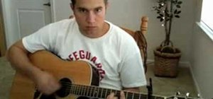 """Play """"It's Not Over"""" by Secondhand Serenade on guitar"""