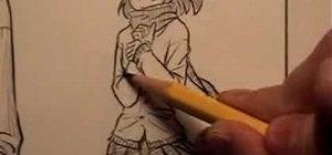 Draw clothes for anime/manga comic books