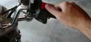 cycle safer   diy turn signal backpack complete  accelerometer activated brake