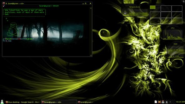 Look at My Linux Desktop... Then Look at Your Windows/Mac Desktops