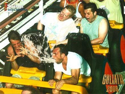 Rollercoaster Puke fest