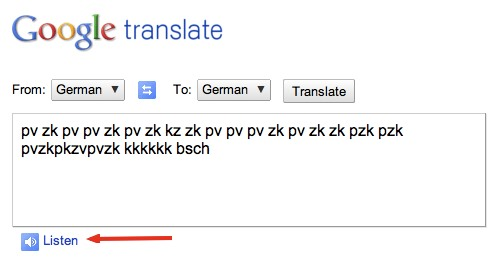 HowTo: Make Google Translate Beatbox