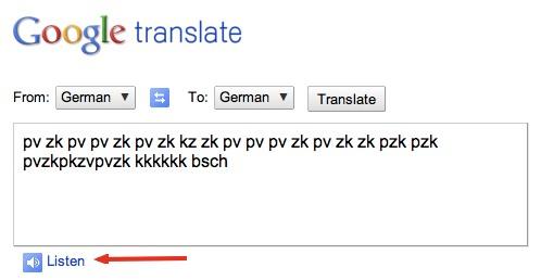 HowTo: Make Google Translate Beatbox