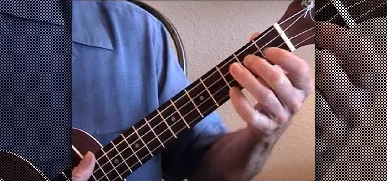 How To Play Minor Jazz Chords On The Ukulele Ukulele Wonderhowto
