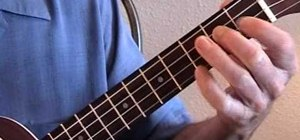 Play minor jazz chords on the ukulele