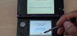 Update the software on your Nintendo 3DS