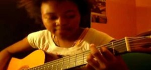 "Play ""Baby Can I Hold You"" by Tracy Chapman on guitar"
