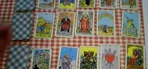 Read a 15 to 21 tarot card lay out with Peter John