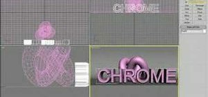 Make a chrome material in 3ds Max