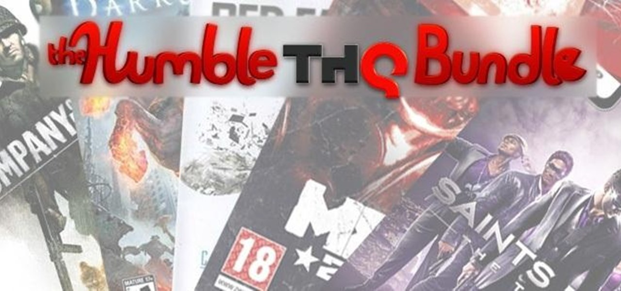 The Humble THQ Bundle Is Out Just in Time for Christmas—7 Games for Any Price You Want!