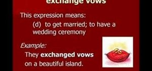 "Use phrases related to ""love and marriage"" in English"