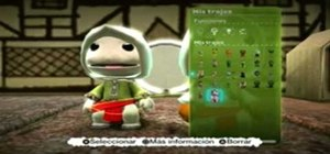 Create an Altair from Assassin's Creed costume in Little Big Planet