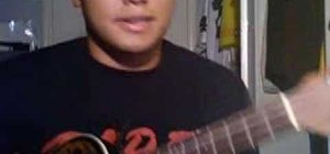 "Strum ""Hey There Delilah"" on the ukulele"