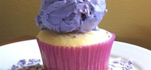 Mochi + Ube Ice Cream Cupcakes