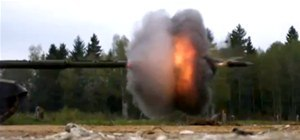 Firing Tank Caught at 18,000 FPS Looks Just As Awesome As It Sounds