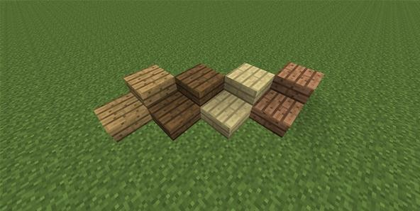 Editable Books and Colorful Wooden Half Slabs in the Minecraft Snapshot 12w17a