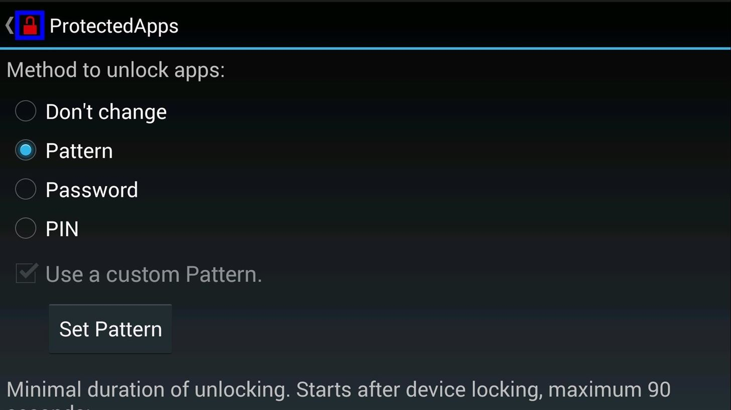 How to Add a Password, Pattern, or PIN Lock to Any App on Your HTC One or Other Android Device