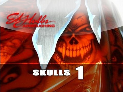Airbrush skulls - Part 1 of 2