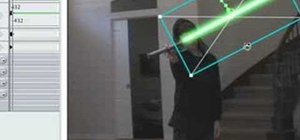 Creating Lightsabers, Keyframing M