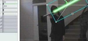 Creating Lightsabers, Keyframing M