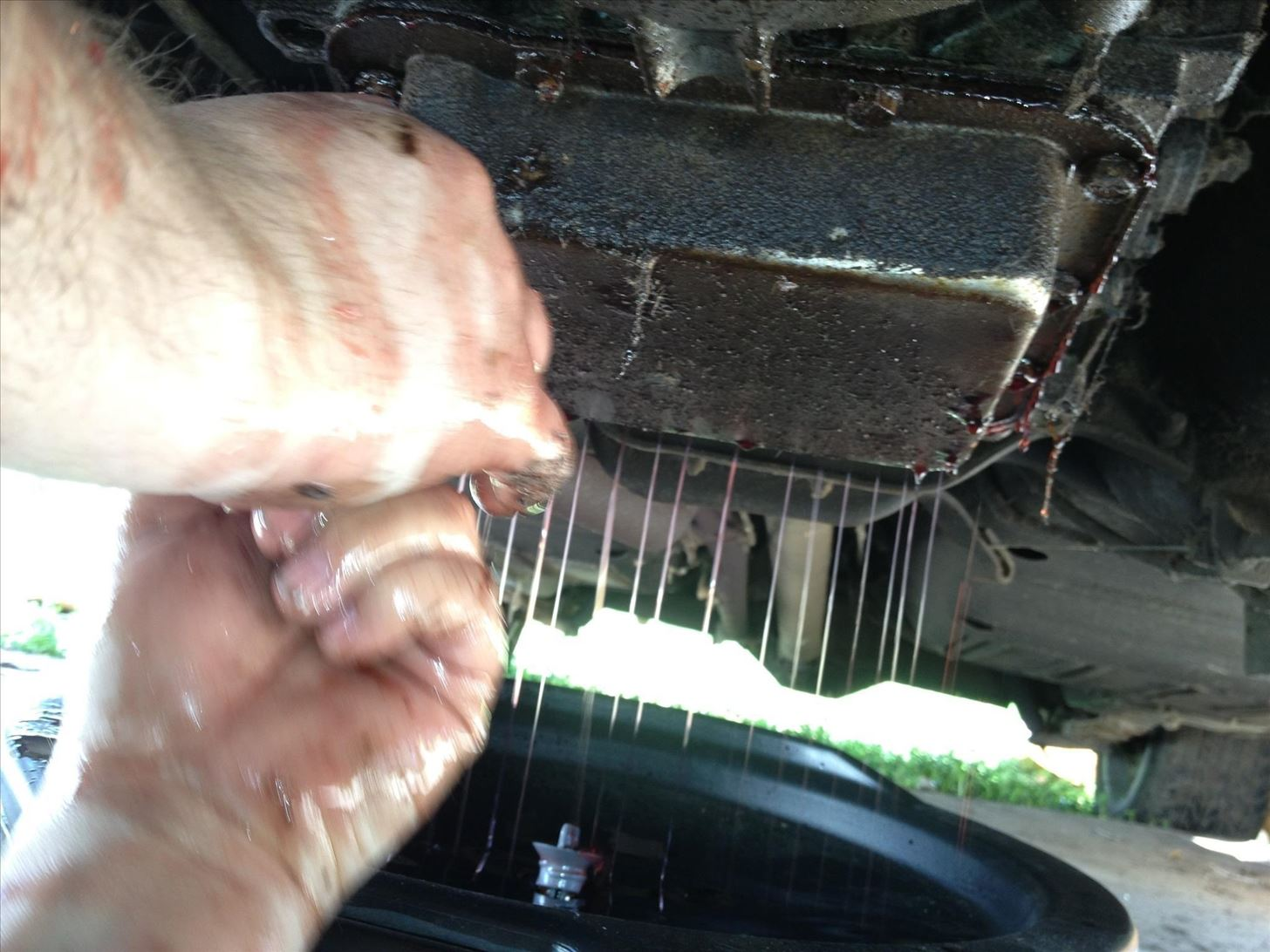 How To Change Automatic Transmission Fluid And Filter On