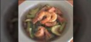 Make Asian stir fried shrimp