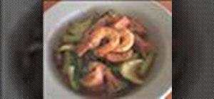 Make Asian stir fried shrimp
