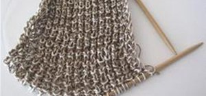 How to Knit Straight on a Circular Needle   Knitting & Crochet