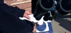 Use Binoculars to Safely Project and View the Upcoming Solar Eclipse and Transit of Venus